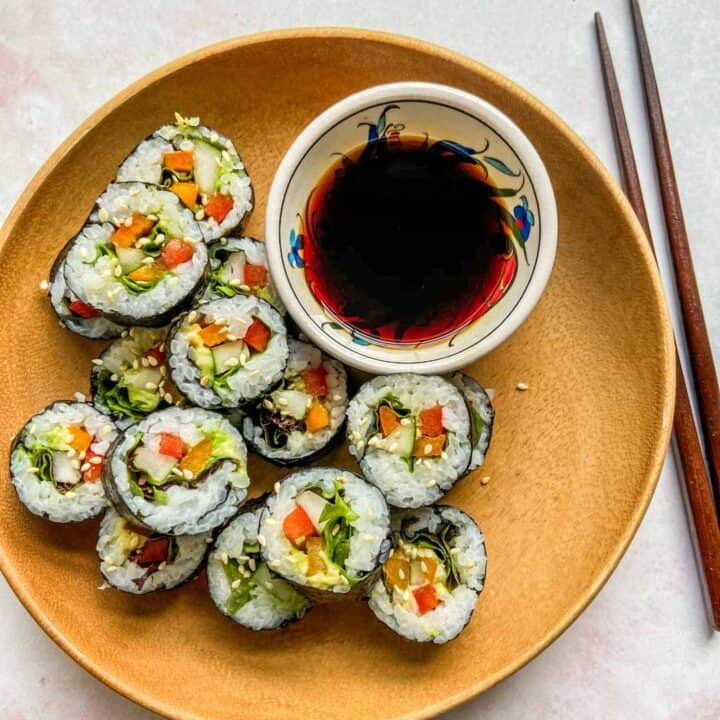 Vegan Sushi Recipe