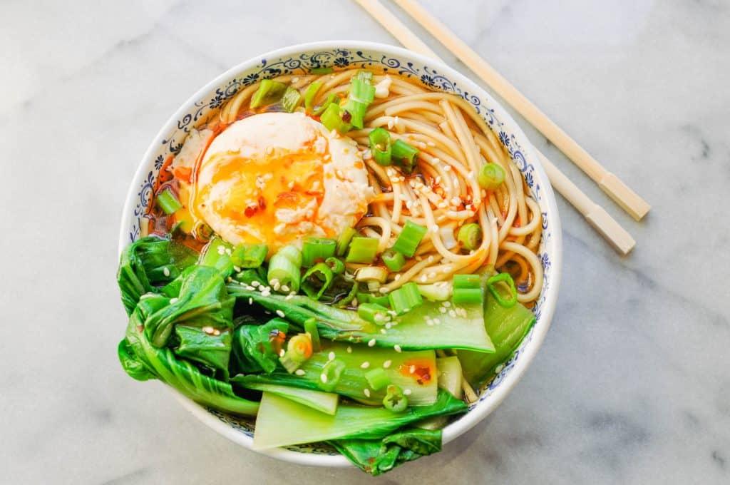 miso ramen recipe in a bowl