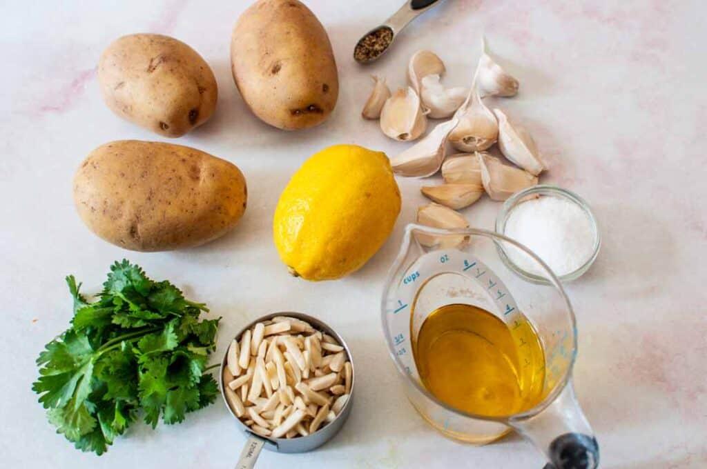 ingredients for skordalia