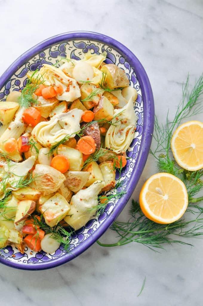 artichoke potato salad