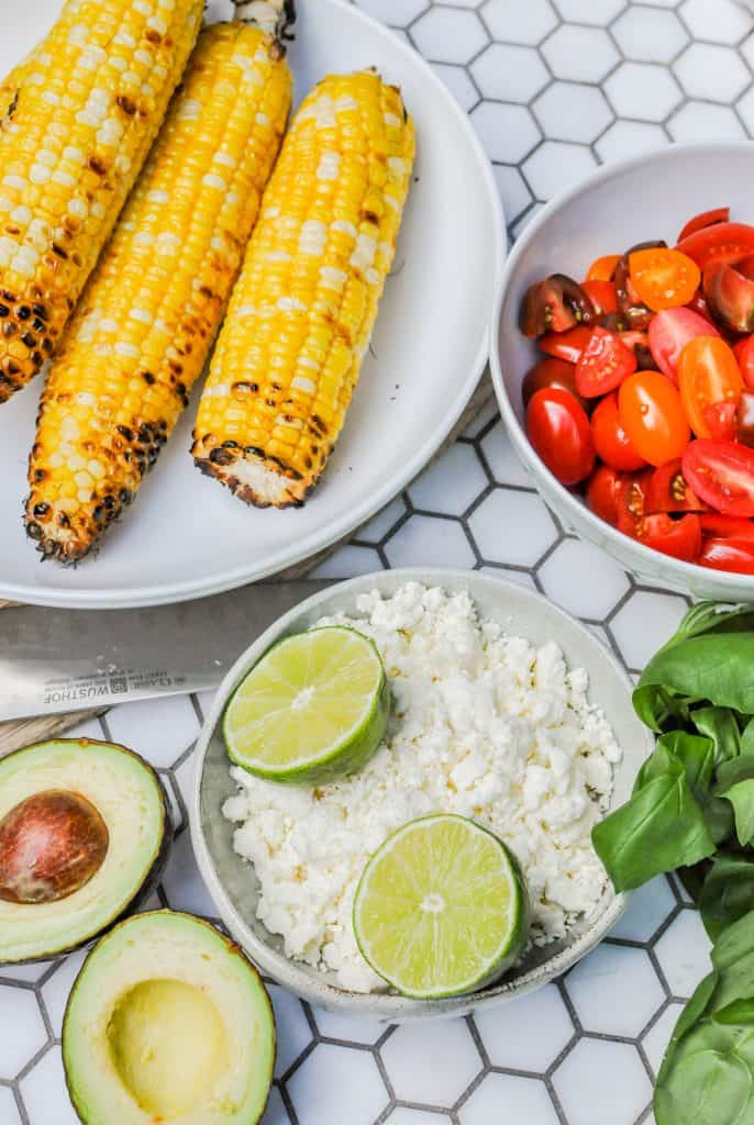 grilled corn salad ingredients