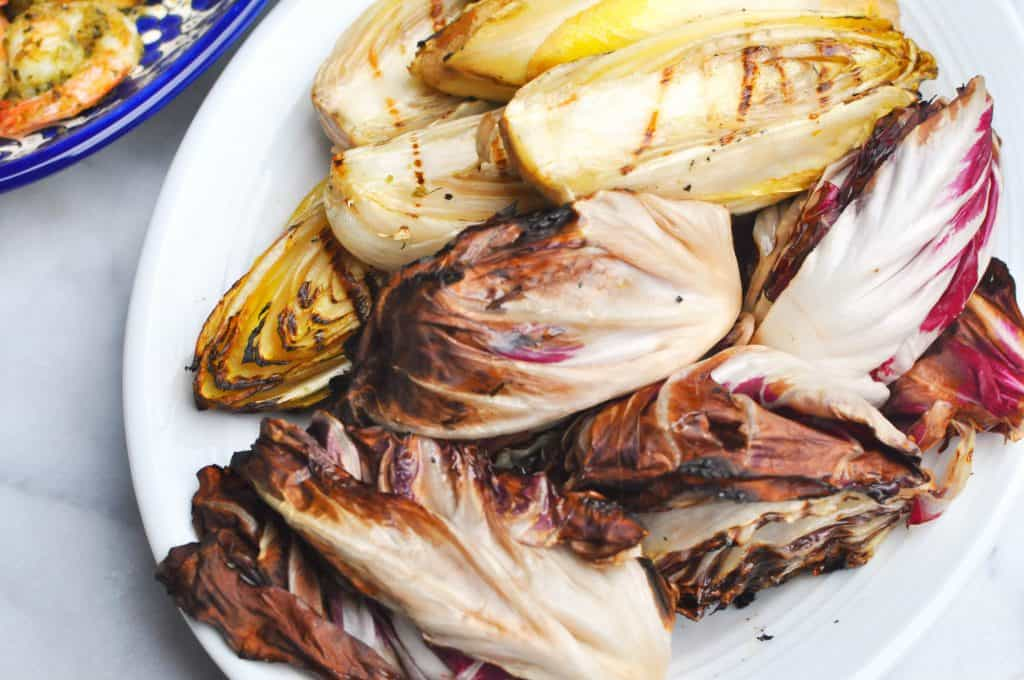 grilled endives