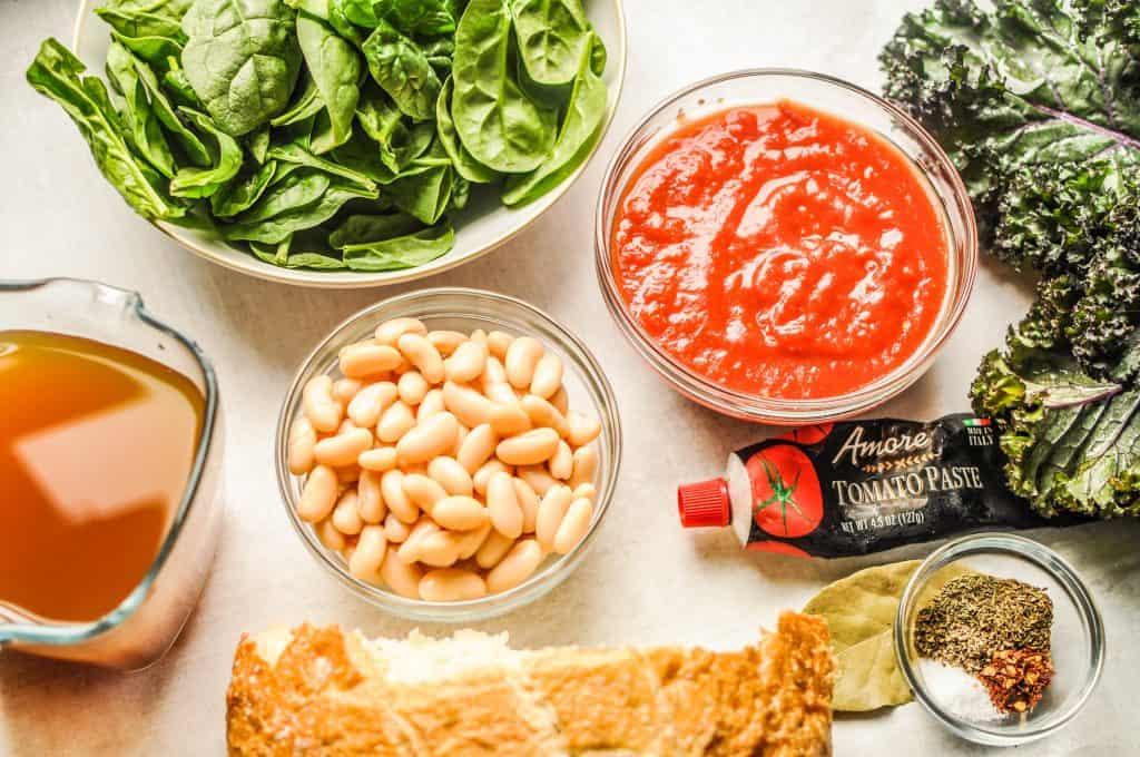 ribollita soup ingredients