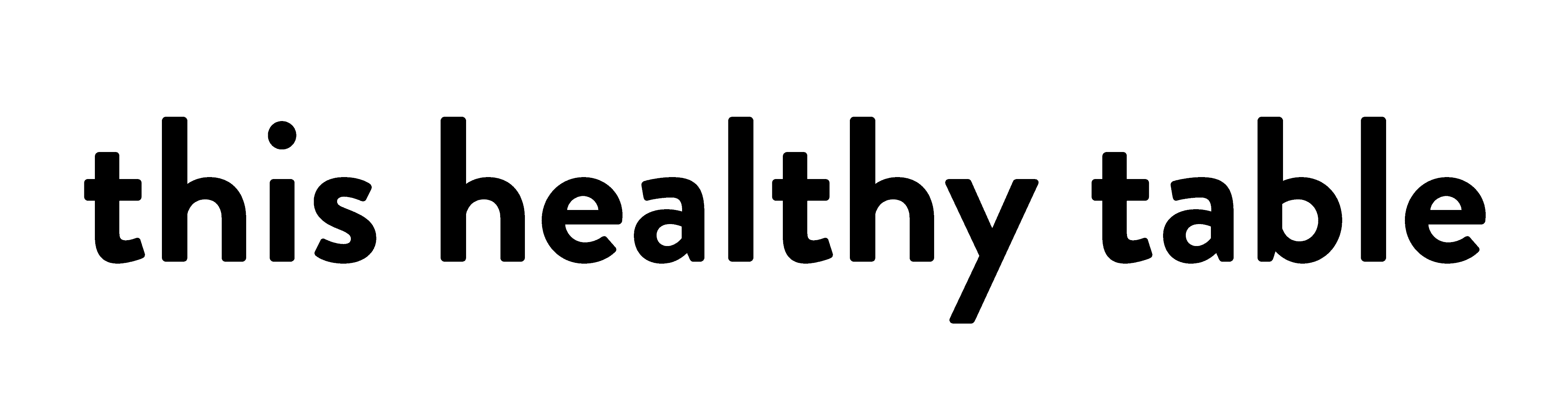 this healthy table