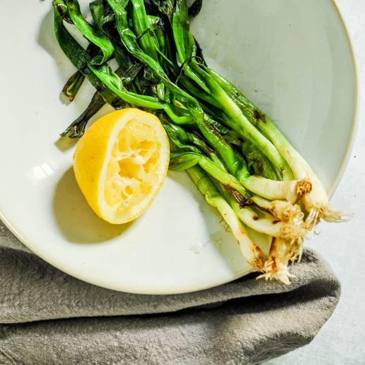 grilled scallions recipe
