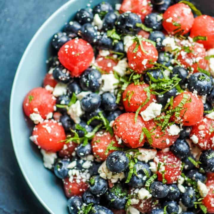 watermelon blueberry salad recipe