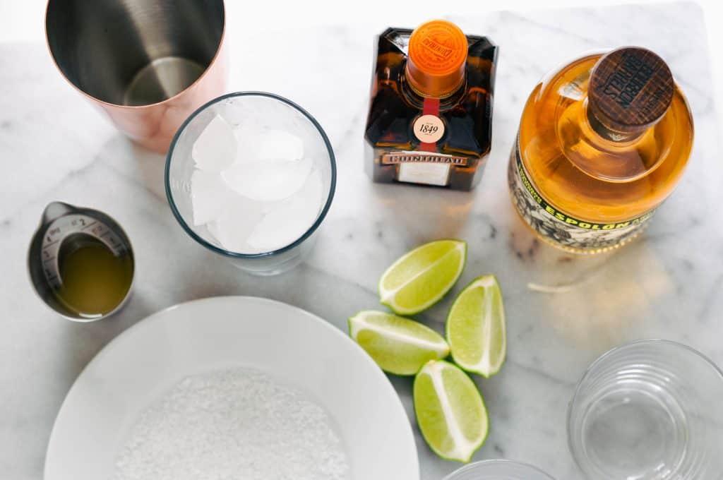 ginger lime margarita ingredients