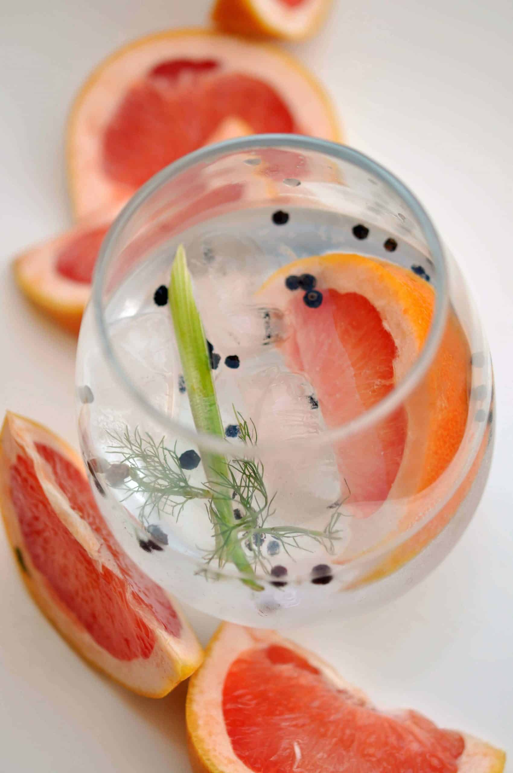 fennel and grapefruit G&T