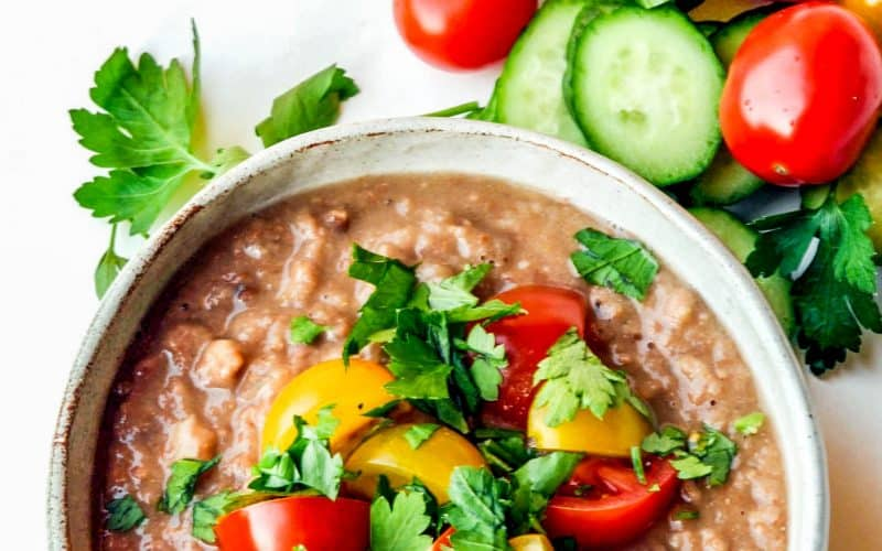 ful medames in a bowl