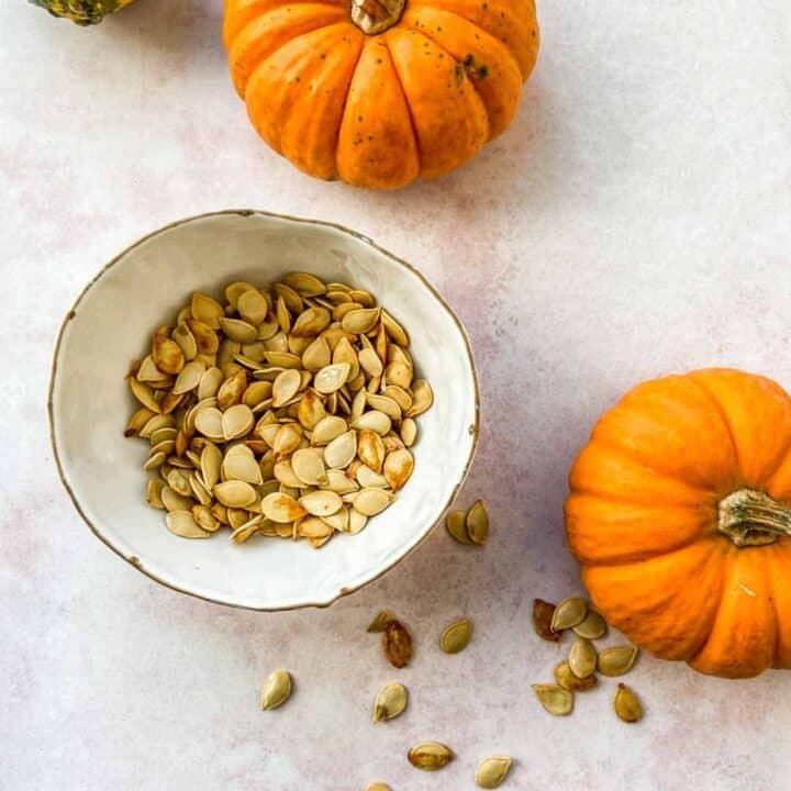 How to Roast Squash & Pumpkin Seeds