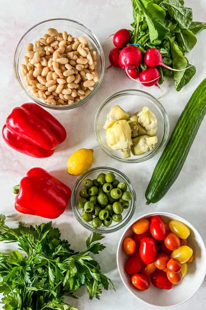 bean salad ingredients