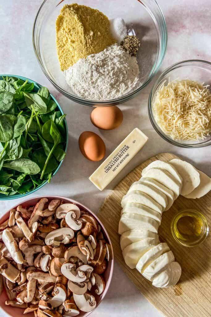mushroom galette ingredients