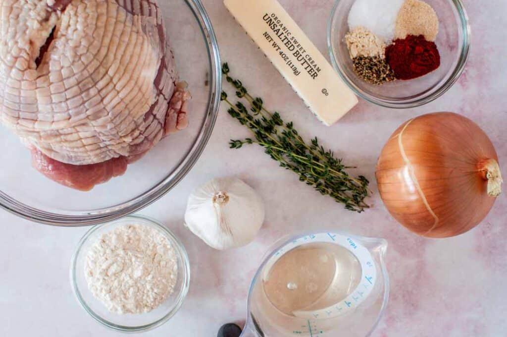 slow cooker turkey ingredients