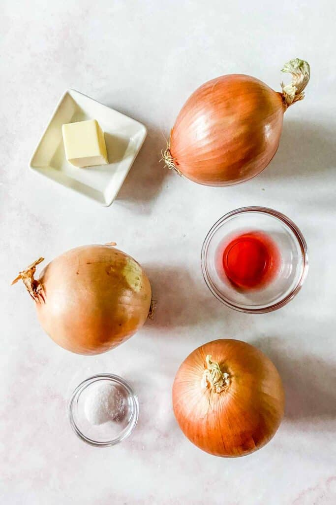caramelized onion ingredients