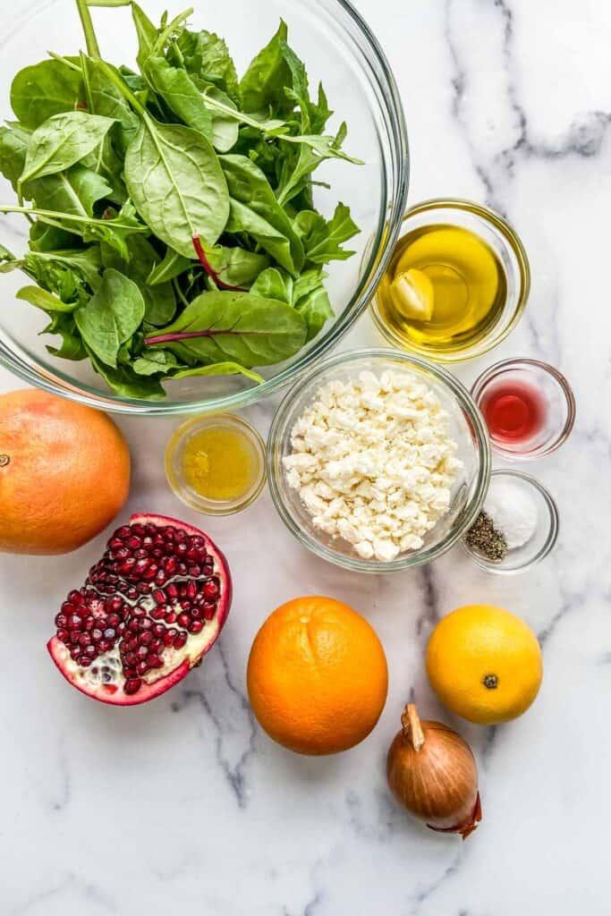 citrus pomegranate salad ingredients