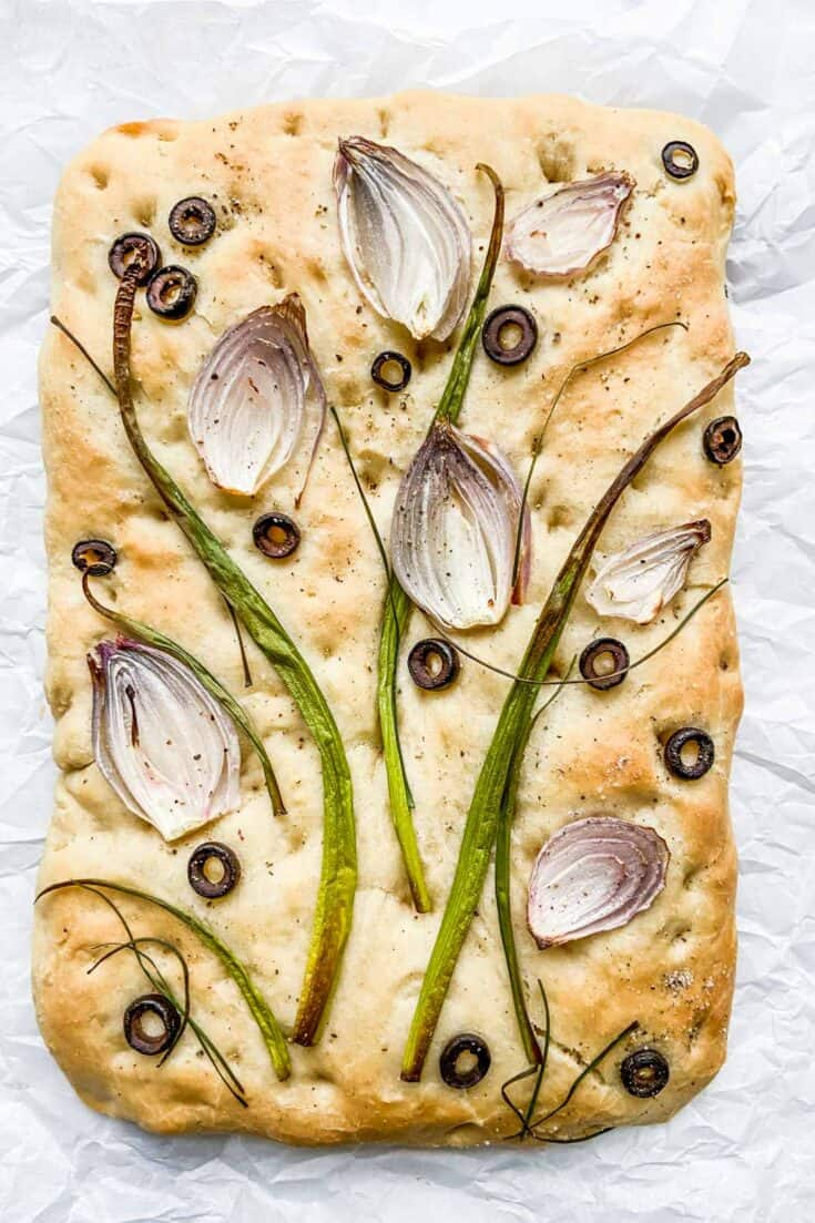 How To Make Decorated Focaccia Bread This Healthy Table