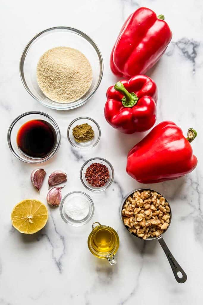 muhammara ingredients