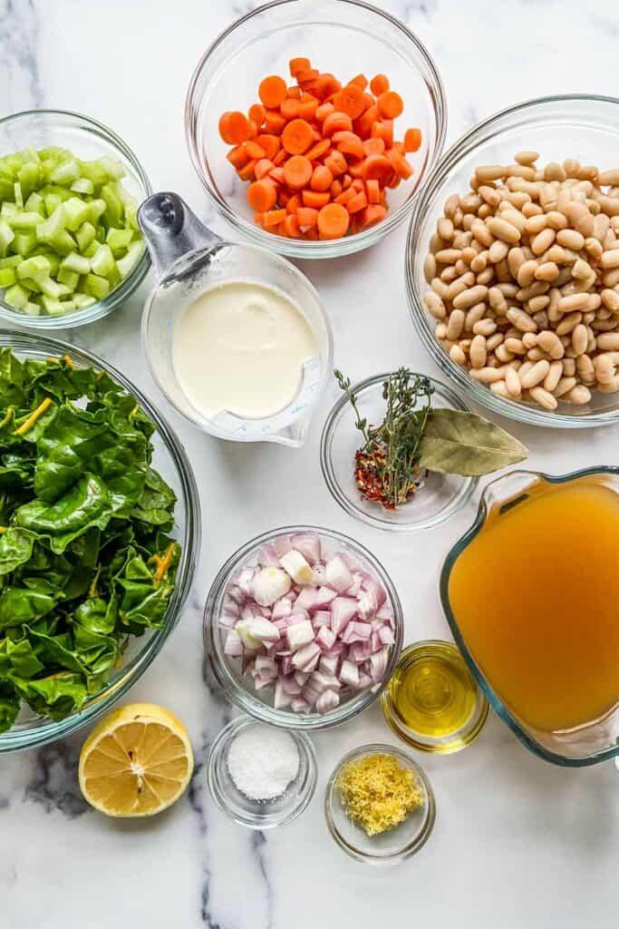 tuscan white bean soup ingredients