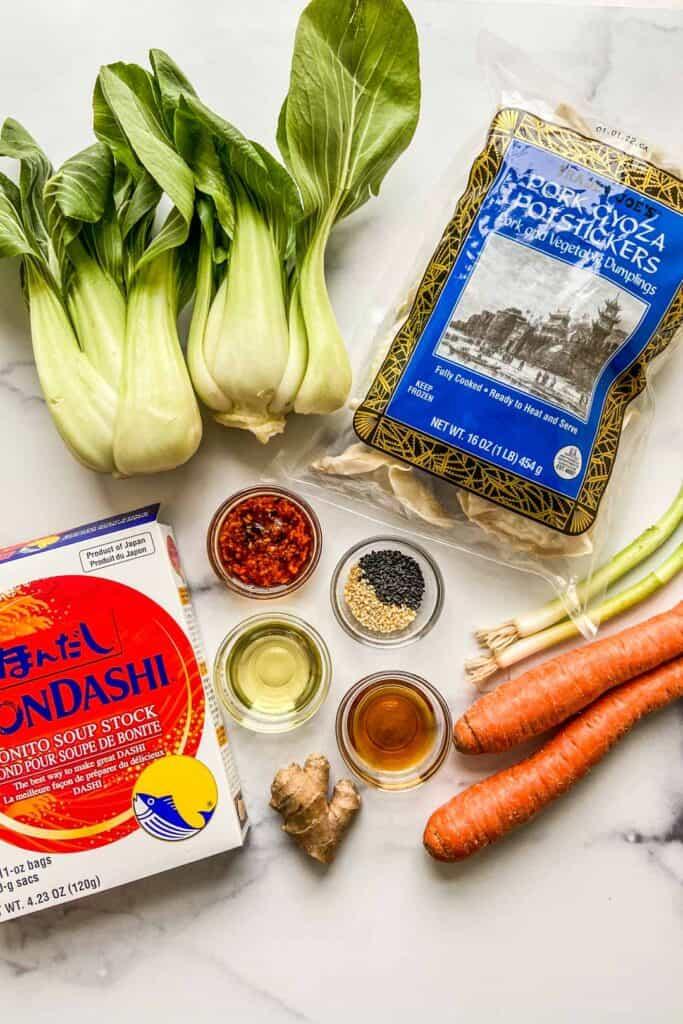 gyoza soup ingredients