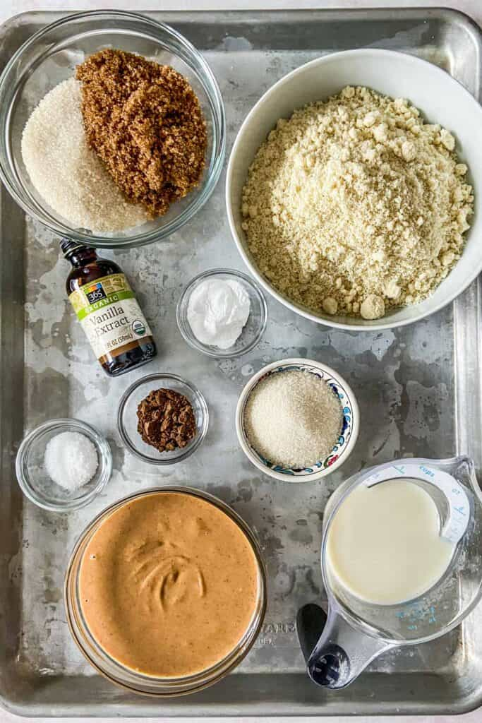 peanut butter cookie ingredients