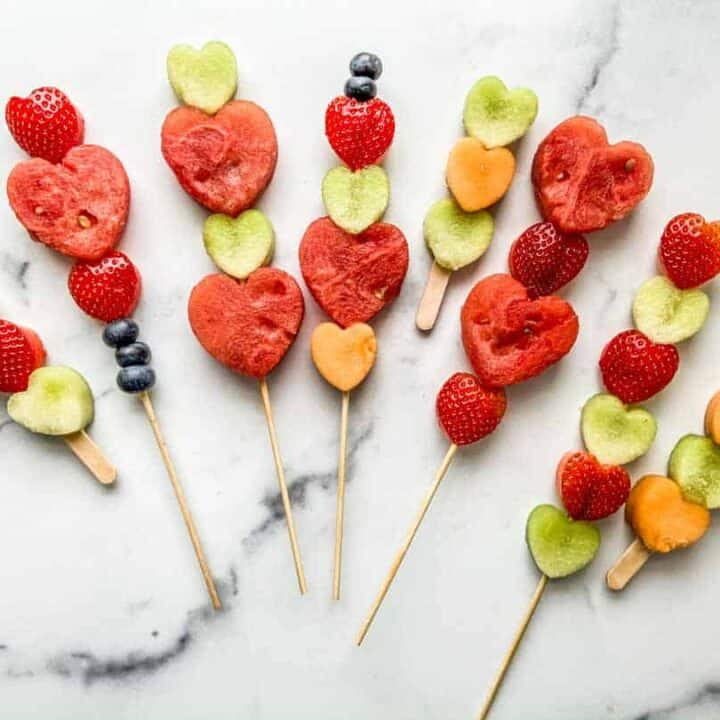Strawberry Watermelon Skewers