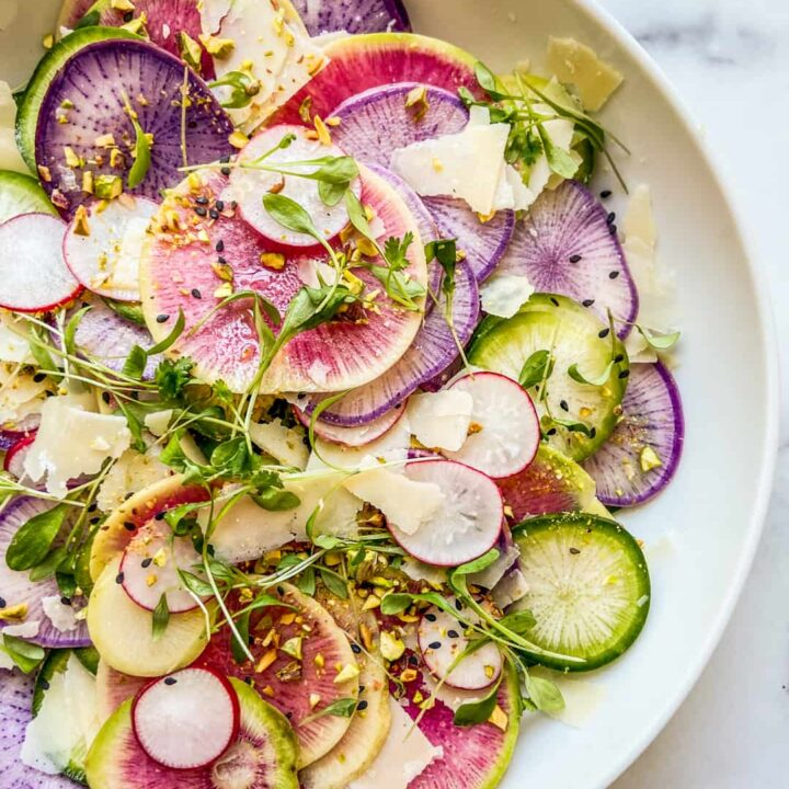 Best Radish Recipes: Colorful Radish Salad