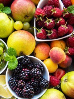 Fruit that's in season in June.